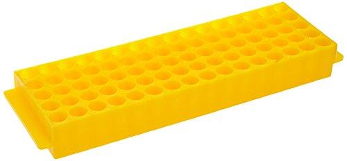 neoLab 2-2560 Top-Rack für 80 Reaktionsgefäße, 1,5 mL, Gelb