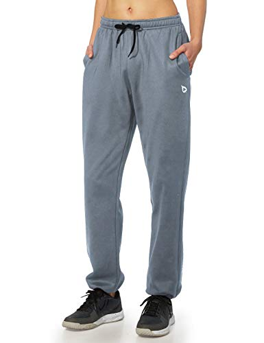 BALEAF Women's Running Thermal Fleece Pants Zipper...
