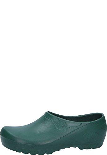 Jolly Fashion by Alsa .der grüne PU Schuh mit auswechselbarem Korkfußbett, 48