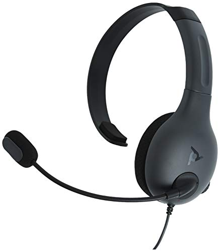 PDP Gaming LVL30 Wired Chat Headset With Noise Cancelling Microphone: Black - Xbox