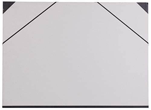 Clairefontaine Gris Art Carpeta con elástico, 52x 72cm