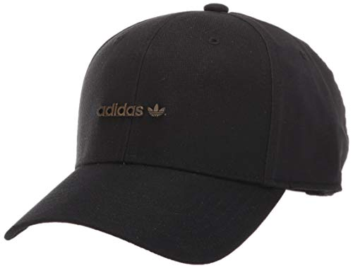adidas Originals Originals Metal Forum Logo Cap, Black, One Size
