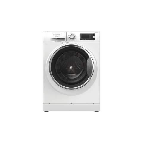 Hotpoint NLLCD 1047 WC AD EU lavatrice Libera installazione Caricamento frontale Bianco 10 kg 1400 Giri min A+++-40%
