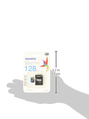 A-DATA Technology microSD Premier 128GB UHS1/CL10/A1+Adapter 2