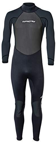 Hyperflex Wetsuits Acceso de los Hombres 3/2mm Traje Completo, Hombre, Negro