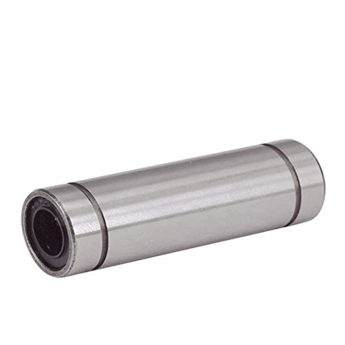 XBaofu Teniendo Bolas lineales más Largos LM8LUU 8mm rodamiento Lineal Rodamientos CNC Piezas 3D de la Impresora Piezas LM8L (tamaño : 10 pcs)