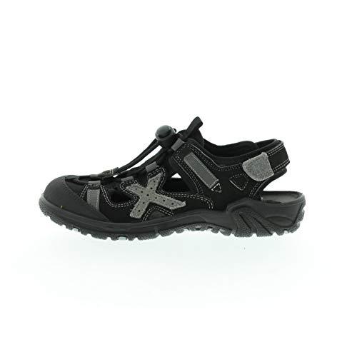 Ricosta Schuhe für Jungen Sandalen Shaq Schwarz 6521500090 (Numeric_34)