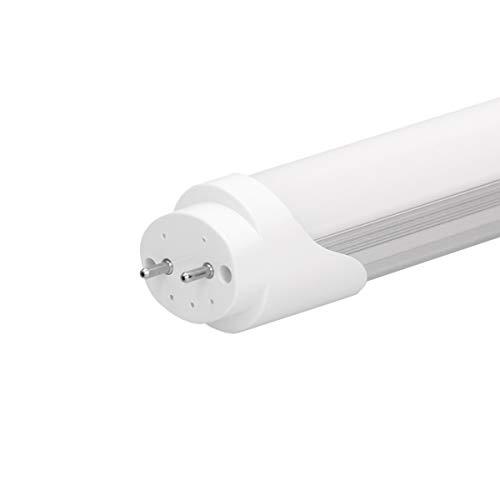 ECD Germany 8x Tubo Florescente LED T8 G13-90 cm - 14W - SMD Luminaría de Techo Blanco Cálido 3000K Cebador 1150 Lumen Lámpara de Recambio Neón Diseño Moderno Iluminación Interior Hogar Oficina
