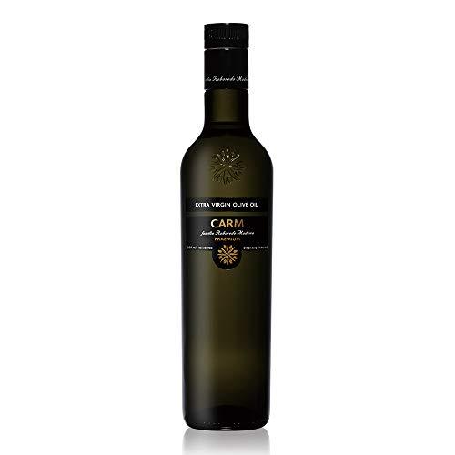 CARMプレミアムオーガニックエキストラバージンオリーブオイル500ml有機JAS認定コールドプレス酸度0.1-0.2%ポルトガル産原産地呼称DOPトラズ・オス・モンテス