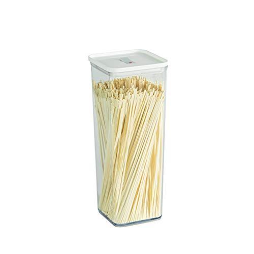 YUMEIGE Caja de Almacenamiento de cosméticos Tanque de Almacenamiento de Grano Entero, Caja de Almacenamiento de Cocina, Frasco de plástico Sellado para almacenar Alimentos y Productos Secos, Botella