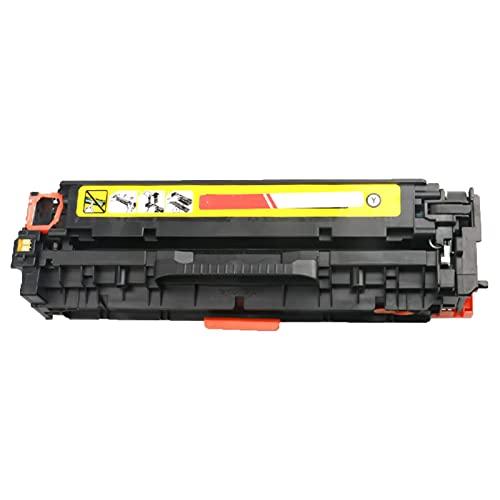 XIGU Reemplazo de Cartucho de tóner Compatible para HP CE410A para HP Color Laserjet Pro 300 400 M351 37 451 475 Impresora, Home Bank Fadear Resistente a la Salud Ambient Yellow