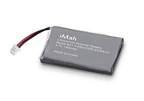 Replacement Battery for Plantronics CS50 CS55 CS351 CS361 CS60 CS510 CS520 Savi W410 W420 W710 W720, Also fits Plantronics 65358-01 Battery 64327-01 64399-01 202599-03