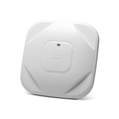 Cisco AIR-CAP1602I-E-K9 Aironet 1602I Punto di Accesso WLAN, 300 Mbit/s, 2,4/5 GHz, Bianco