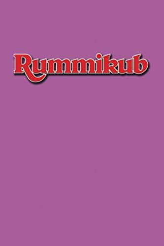 Rummikub: Score Book | Rummikub Lined Notebook (College-Ruled) | Perfect for Scorekeeping | Orchid
