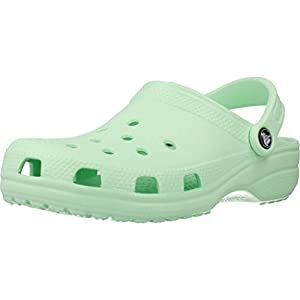 Crocs Classic Clog | Comfortable Slip on Casual Water Shoe, Neo MINT, 9 US Women / 7 US Men M US