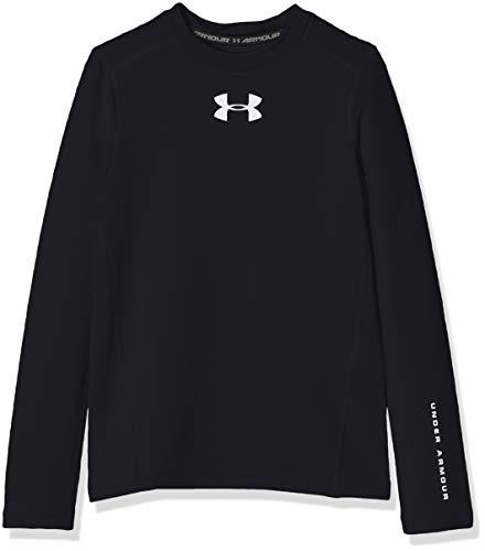 Under Armour Coldgear Armour T-Shirt Manches Longues Garçon Noir FR : XS (Taille Fabricant : YXS)
