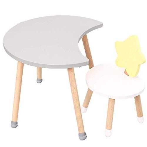 Wohngeräte Tisch Stuhl Sets Kinder Schreibtisch und Stuhl Set Indoor Kinder Studiertisch Kindergarten Interaktive Workstation Kombinierte Studie Tisch und Stuhl Set Geschenk für Jungen und Mädchen