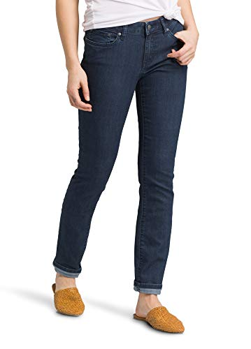 Prana Damen Big Kayla Jeans, Indigo, 2 hohe Innennaht