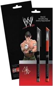 WWE - WWE08-1098 - Loisir Créatif - Blister de 2 stylos gels
