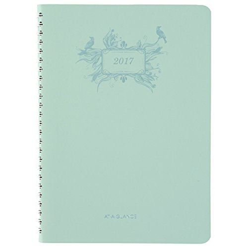 """AT-A-GLANCE Weekly / Monthly Planner / Appointment Book 2017, 5-1/2 x 8-1/2"""", Poetica (772200)"""
