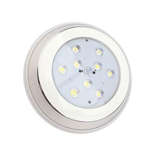 LEDKIA LIGHTING Foco Piscina LED Superficie Inox 12V AC/DC 9W