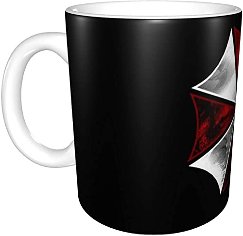 Taza de té de Resident Evil, tazas de café, sin plomo, regalos personalizados para mujeres, mamá, profesora, hermana, cumpleaños, Navidad