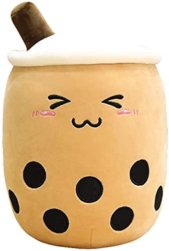 Animales de peluche y peluches de peluche juguetes rellenos de peluche taza de té de peluche de peluche almohada de peluche de comida té té suave muñeca leche taza taza almohada cojín niños juguetes r