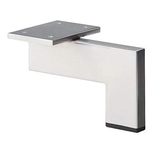 Möbelfuß design Chrom Höhe 10 cm