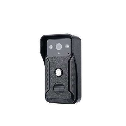 DNAMAZ Portero 7'Pantalla de Color Inicio Video Interphone Doorphone Bell Kits Home Families Puerta Acceso Control Intercom Sistemas de intercomunicación automatico (Color : QA)