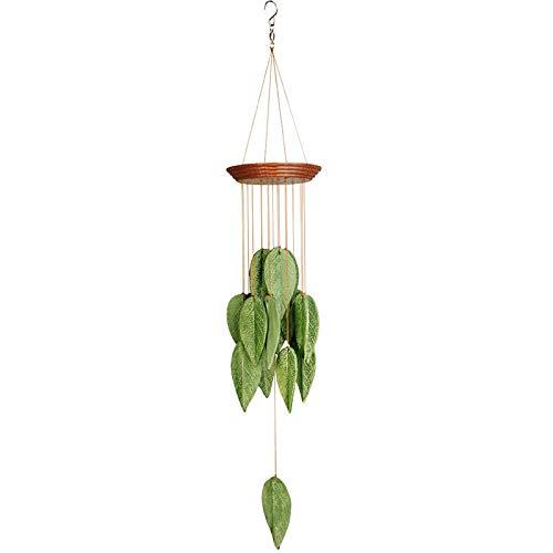 Wind Chimes Hängende Keramik Blätter Wind Chimes Handmade Wind Chimes Outdoor Indoor Für Garten Und Zuhause,B