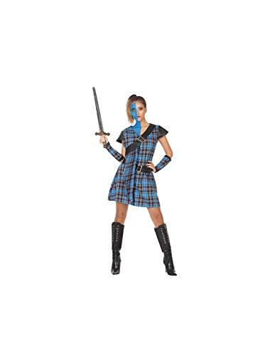 DISBACANAL Disfraz de Escocesa Braveheart - -, M-L