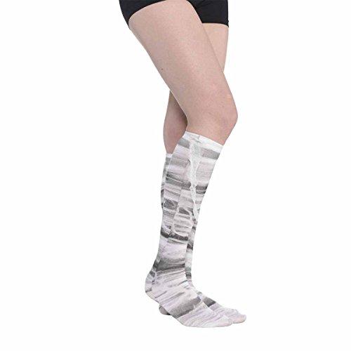 Amscan 848244-55 - Socken Mumie, Kniestrümpfe, Strumpf, Accessoire, Hexe, Zombie, Damen, Karneval, Halloween, Mottoparty