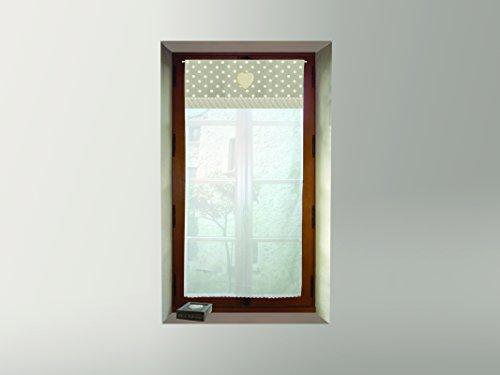cortinas ventana rusticas