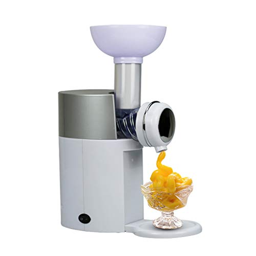 Amycute Máquina de Hacer Helados, DIY Heladera de Frutas Ice Cream Maker yogurtera heladera con dispensador de Helado para Hacer Postres de Frutas