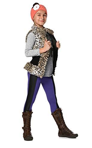 AE Thermo-Leggings Kinder Mädchen Leggings Jersey Leggings Hose; Violett 110