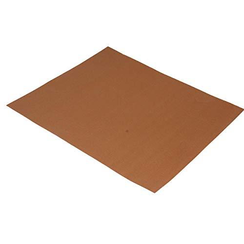 showsing BBQ Mat, Estera de Barbacoa Barbacoa Mat Reutilizable Estera Antiadherente con Acabado de Teflón para Horno - Rejilla para Parrillas 3Pcs-Copper