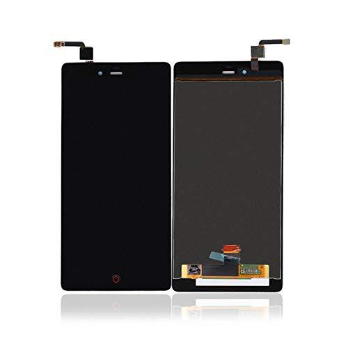 Un known Mobilteile for Zte Nubia Z9 Max NX510J NX512J LCD-Bildschirm mit Touch-Display Digitizer Elektronisches Zubehör (Color : Black, Size : 5.5