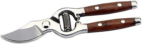 Draper 45317 Bypass-Gartenschere mit Holzgriffen, 210mm