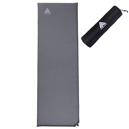 10T Outdoor Equipment Unisex– Erwachsene Thermo-Matte, Anthrazit-5S, 5cm