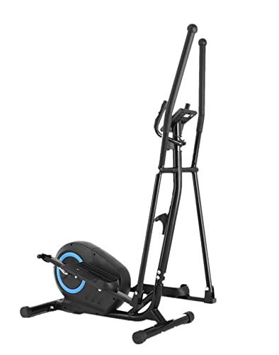 Bicicleta Elíptica para Hogar, con Sistema de Control Magnético Bidireccional, 7 Modos, 8 Niveles de Resistencia, Carga 110 Kg, Volante de Inercia 3,5 Kg en la Parte Trasera