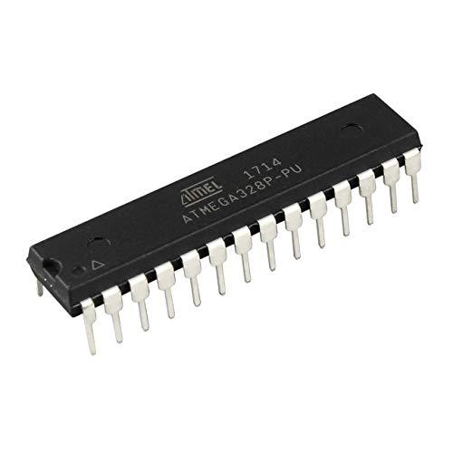 Ballylelly Professioneller 8 Bit Mikrocontroller Mikrocontroller 28 Pins ATmega328P-PU Prozessor 1,8V bis 5V Hubschrauber Zubehör