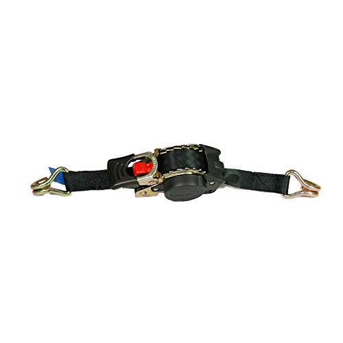 aidB Automatik Spanngurt 300daN 180cm, 25mm breit, Zurrgurt zum Sichern von Ladung, passend zur Eurobox NextGen