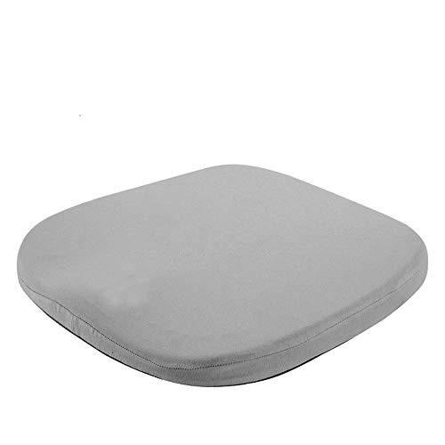 YLiansong-home Seat Cushion Chair Cushion Gel Cushion Ergonomic Mid-Sized Cushion Washable Lid (Color : Dark Gray, Size : 42X45X4CM)