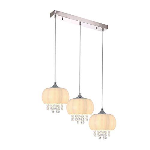 NOVA 3xE14 LED Chrome Plafonnier Lampe suspension Lampe suspension Lumière pendante