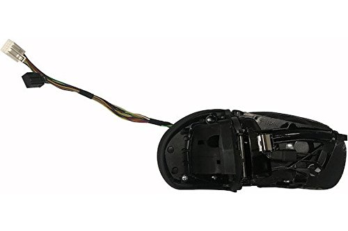 MAX mmb201-l Retrovisor eléctrico sin Cazoletas, Espejo Asférico cromado térmico