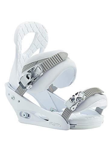 Burton Damen Stiletto Blanca Snowboard Bindung, L