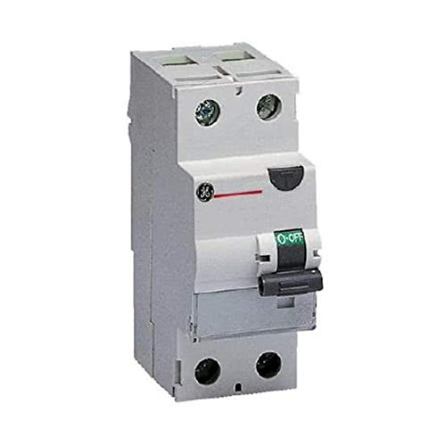 Interruptor diferencial FP A 2P 25A 30mA General Electric 604001 - Cód. HERD604001