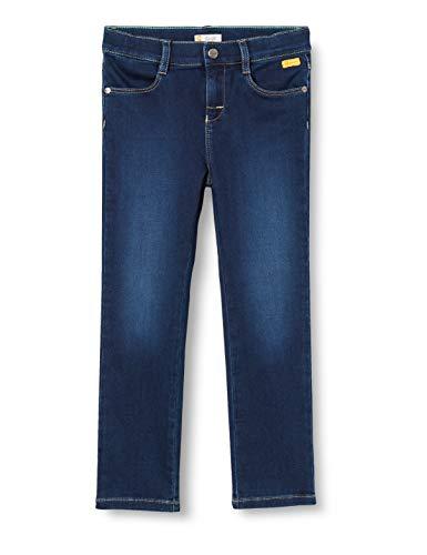 Steiff Jungen Jeanshose Jeans, Mood Indigo, 110