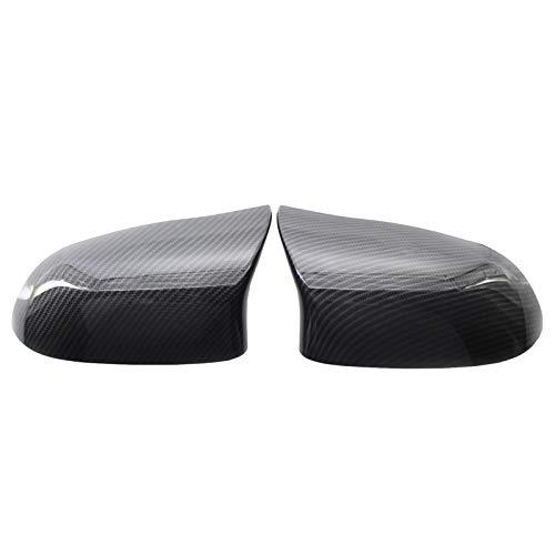 GoolRC 1 par de Cubierta de Espejo Lateral de Repuesto de Fibra de Carbono para F15 X5 2014-2018