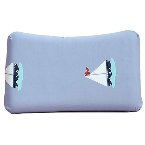 Baby Pillow Latex Pillow/For Toddler Baby Head Shaping Prevent Flat Head Syndrome Breathable (1-10 Years Old),3